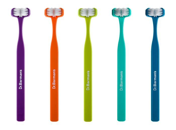 Dr. Barman's Superbrush tannkost Voksen assorterte farger