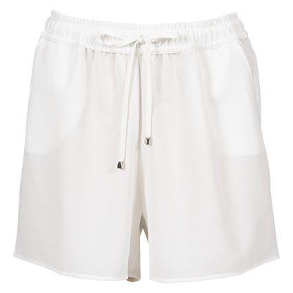 Lifetime shorts med strikk i livet offwhite