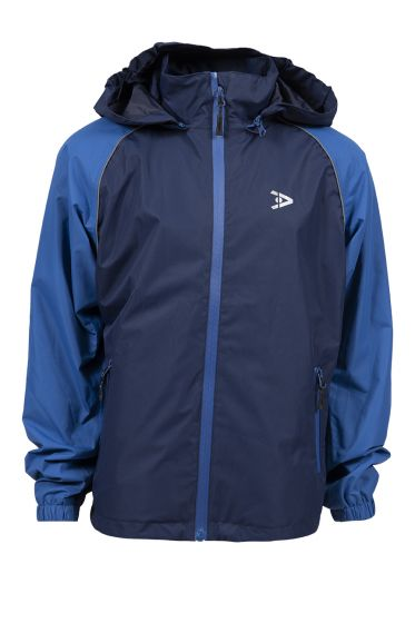 Active Sport Bergen regn- og tur jakke marine-blå
