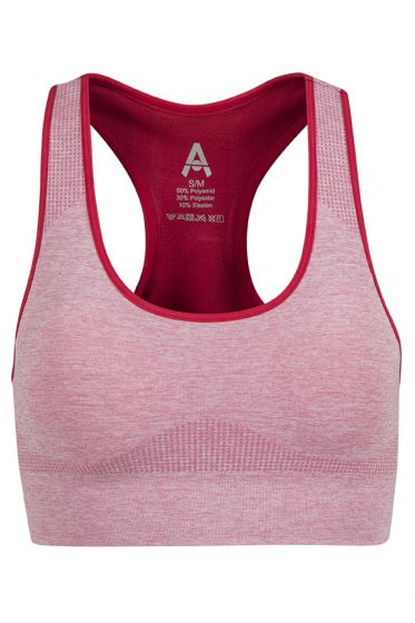Active Sport seamless sports-bh rosa