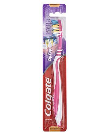 Colgate tannbørste Zig Zag Soft soft