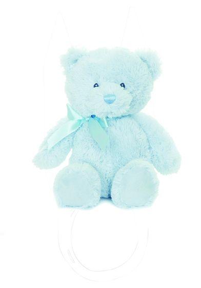 Teddykomaniet liten teddy blå lyseblå