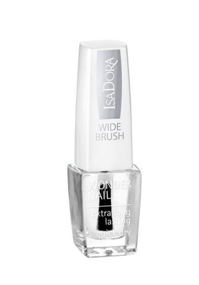 Isadora Wonder nail wide brush 600 clear