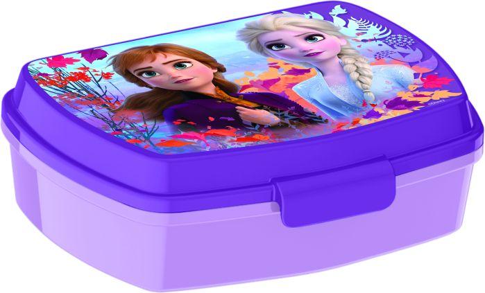Disney Frozen matboks med innlegg Lilla