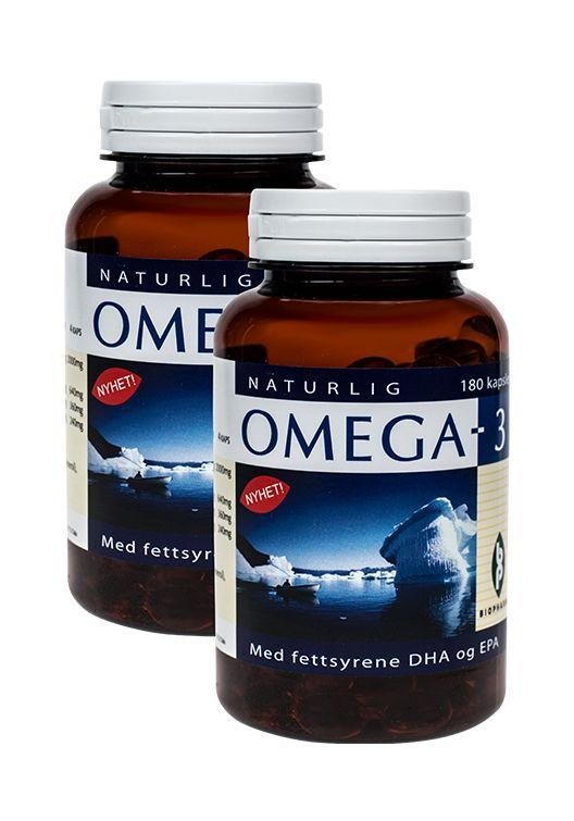 Biopharma Naturlig Omega 3